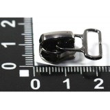 Бегунок №5 спираль с пуллером д/ленты XY-011 т.никель