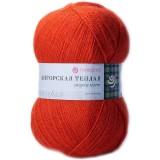 Пряжа Ангорская теплая 0,5кг (5штх100гр*480м 40%шерсть 60%акрил) красный мак