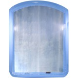 Зеркало д/ванной комнаты 2005 голубой