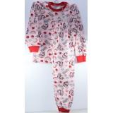 Пижама детская (кофта+штаны) (прод по 5шт) девочка 3-7лет
