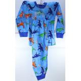 Пижама детская (кофта+штаны) (прод по 5шт) мальчик 3-7лет