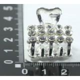Краб KG- 129D-1 металл.серебро (прод по 12)